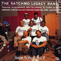 1989. The Satchmo Legacy Band, Salute to Pops, Vol. 2, Soul Note