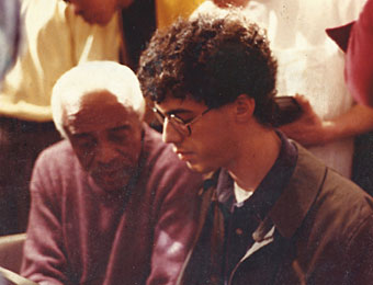 Barry Harris et Spike Wilner, 1992 © photo X by courtesy of Spike Wilner