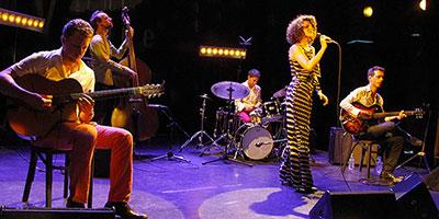 Cyrille Aimée Quintet, Jazz à Vienne 2015 ©Pascal Kober