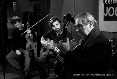 Daniel John Martin, Romain Vuillemin et Romane © Patrick Martineau