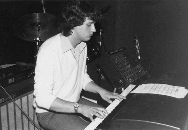 Roberto Magris en 1981 © Photo X, Collection Roberto Magris by courtesy