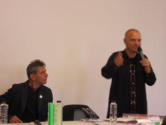 Conference Doru Ionescu et Virgil Mihalu © Michel Antonelli