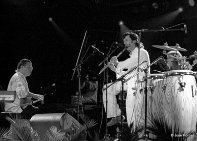 Chick Corea et Jorge Pardo, Festival de Jazz de Vitoria 2005 © Jose Horna