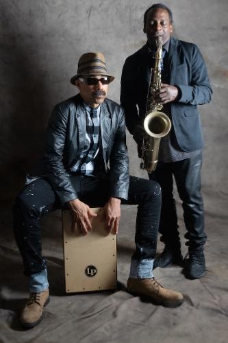 Kahil El'Zabar & David Murray © Photo X, by courtesy of Khalil El'Zabar