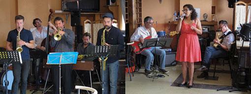 Brian Ruellan Sextet et Amel Amar Trio