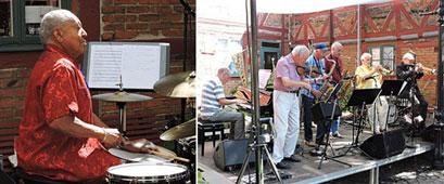Ronnie Gardiner et Swedish Statemen Jazz Group © Jérôme Partage