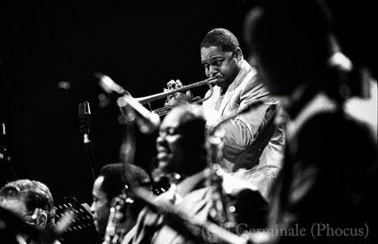 Lincoln Center Jazz Orchestra-Wynton Marsalis, Jazz à Juan 2002 © Umberto Germinale (Phocus)