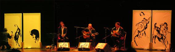 Edmond Baudoin, Bernardo Sandoval, Antonio Ruiz, Serge Lopez © Yves sportis