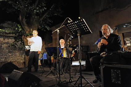 Maurizio Franco, Gianni Coscia, Gianluigi Trovesi © photo X by Courtesy of Iseo Jazz