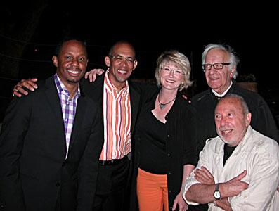 Willie Jones III, Darryl Hall, Dena Derose, Roger Menillo, Jean Pelle © Félix W. Sportis