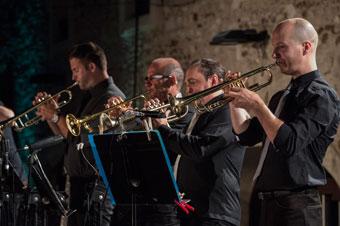 La section de trompettes © Marc Robitaille by courtesy