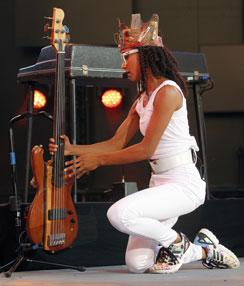 Esperanza Spalding, Jazz à Vienne 2016 © Pascal Kober