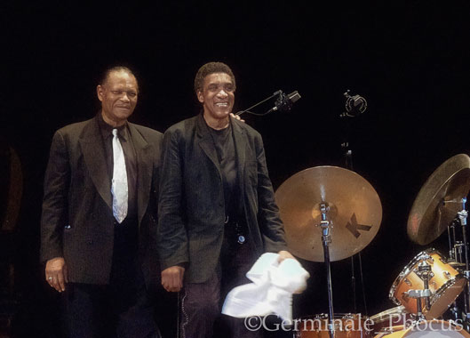 McCoy Tyner et Al Foster, Bergame 2003 © Umberto Germinale