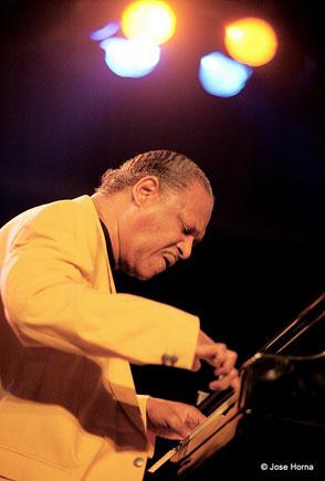 McCoy Tyner, Jazz à Vitoria 1998 © Jose Horna
