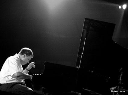 Kenny Werner, Festival de Jazz de Vitoria, 1999 © Jose Horna