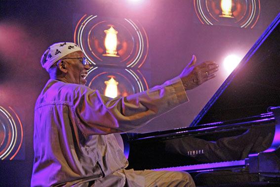 Randy Weston, Jazz à Vienne 2016 © Pascal Kober