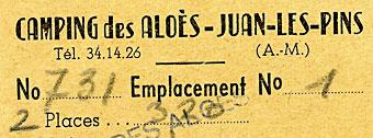 Camping Les Aloès