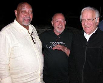 Kenny Barron, Jean Pelle et Roger Mennillo © Félix W. Sportis