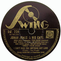 1946, Swing 228, I Can't Give You Anything but Love