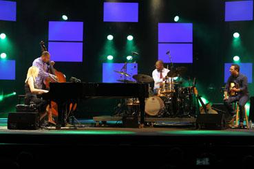 Diana Krall Quartet © Guy Reynard