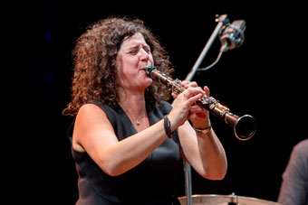 Anat Cohen ©Gianfranco Rota by courtesy of Bergamo Jazz