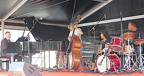 Philippe Duchemin, Patricia Lebeugle, Leslie Lewis, Jean-Pierre Derouard © Yves Sportis