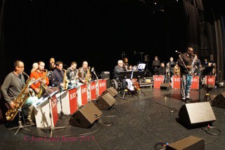 Le Barcelona Jazz Orchestra feat. Jesse Davis © Jean-Louis Boedec