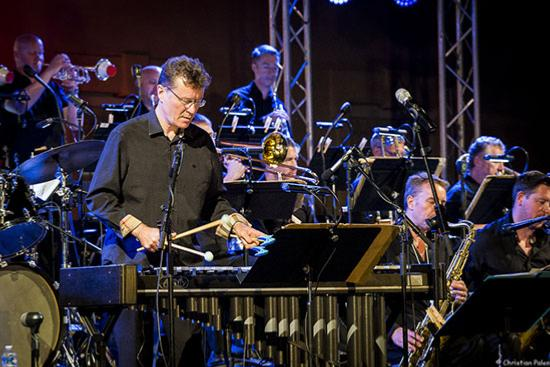 Anthony Kerr (vib) et le BBC Big Band © Christian Palen
