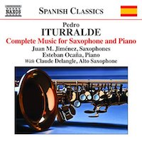 2014. Pedro Iturralde, Complete Music for Saxophone & Piano