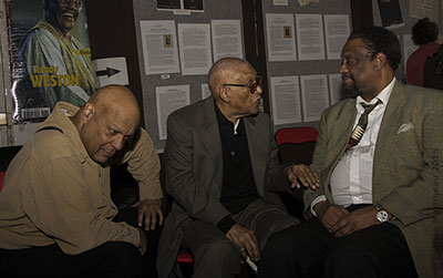 John Betsch, Hal Singer et Chico Freeman © Patrick Martineau