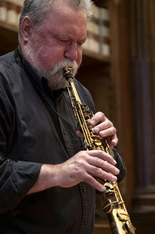 Evan Parker © foto Gianfranco Rota by courtesy of Bergamo Jazz