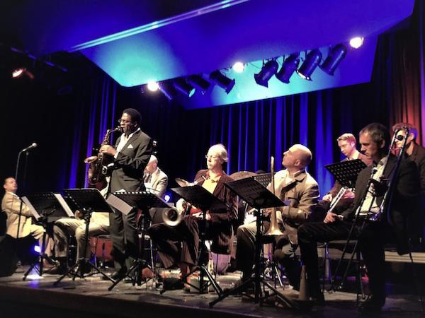 Claus Raible Orchestra avec Brad Leali (as), 2011 © Photo X, by courtesy of Claus Raible