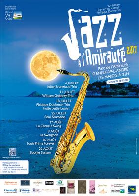 Jazz à l'Amirauté, Edition 2017