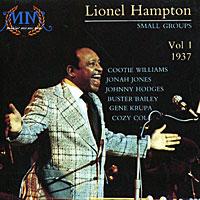 Lionel Hampton Small Groups Vol. 1 1937 (Cootie Williams, Jonah Jones, Johnny Hodges, Buster Bailey, Gene Krupa, Cozy Cole),  Music Memoria 30354