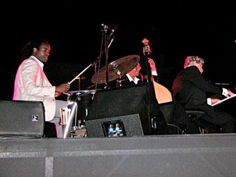 Obed Calvaire, Hassan Shakur, Monty Alexander © Félix W. Sportis