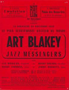 Art Blakey & the Jazz Messengers, Bruxelles 1958