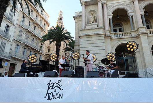 30e Jazz à Toulon, Hommage à Michel Petrucciani, avec Stéphane Bernard, Louis et Philippe Petrucciani, Jazz à Toulon 2019 © Ellen Bertet