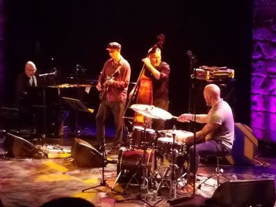 The Bad Plus & Kurt Rosenwinkel © Joe Woodard