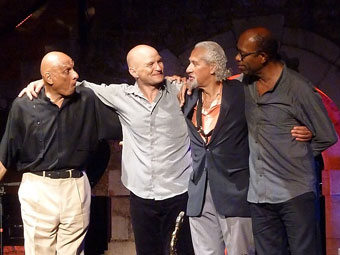 kirk Lightsey, Gary Bartz, Tibo Soulas, Sangoma Everett © Serge Baudot