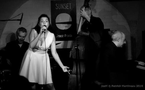 Laure Donnat Quartet, Sunside (octobre 2016) © Patrick Martineau