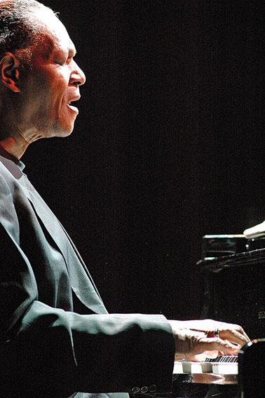 McCoy Tyner, Grenoble 2005 © Pascal Kober
