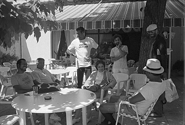 Stanley Cowell, Billy Hart, Billy Harper, Ron Carter Sonny Fortune, Hôtel Imperator, Nîmes, 22 juillet 1986 © Ellen Bertet