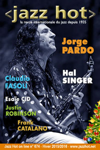 Jazz Hot n°674, Jorge Pardo