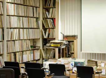 Une salle de cours © Mathieu Perez