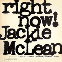 1965. Jackie McLean, Right Now!