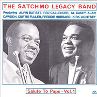 1987. The Satchmo Legacy Band, Salute to Pops, Vol. 1, Soul Note