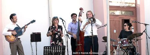 Aurore Voilqué Quintet
