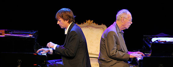 Jan Lundgren et Bengt Hallberg (2012) © Markus Fägersten, by courtesy of Ystad Sweden JazzFestival