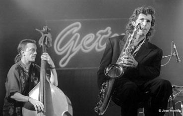 Jorge Pardo et Javier Colina, Getxo Jazz 1995 © Jose Horna