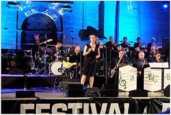 Big Band de Pertuis/Dir. Léandre Grau et Alice Martinez © Ellen Bertet